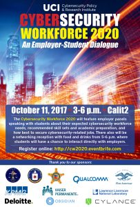 Cybersecurity Workforce event