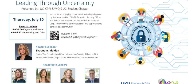 Women in Cybersecurity and Privacy Leading Through Uncertainty